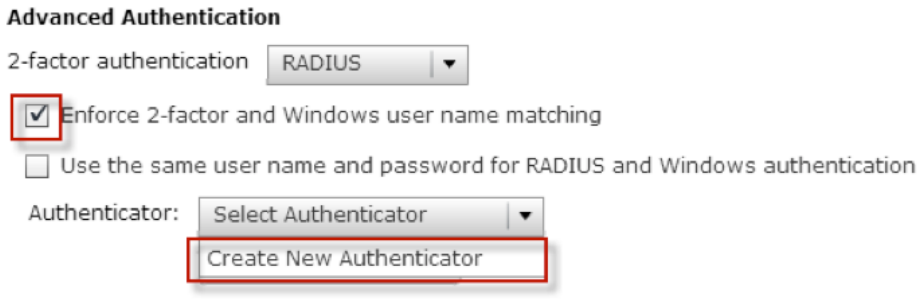 How to Set Up 2-Factor Authentication in VMware Horizon View with TOTPRadius