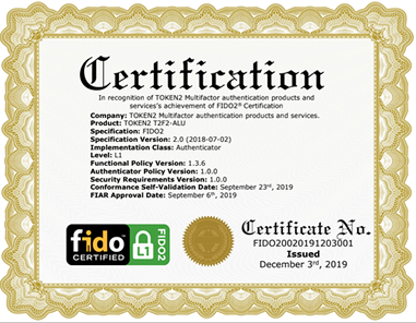 Certifications & Compliance