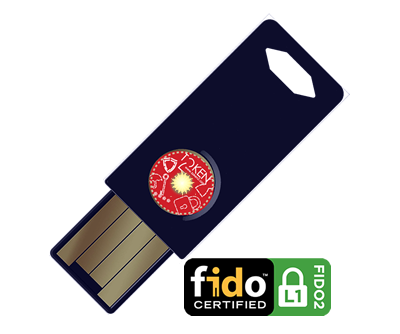 Token2 T2F2 FIDO2 and U2F Security Key